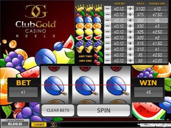 Gold club slot online casino casino fx-350tl